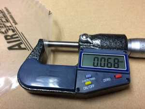 Pomiar grubości folii w mikronach