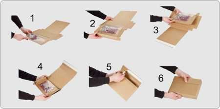 Kolejność pakowania towaru z użyciem opakowania Quick