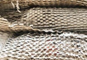 Zastąpienie papierem Wrap folii bąbelkowej